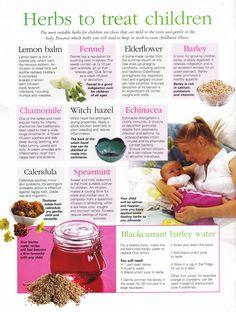 Herbs to treat children