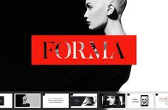 Forma PowerPoint PresentationThe Forma is a simple, stylish and elegant presentation. Present fashion trends, create a modern collections, share your ideas with others with the Forma PowerPoint Presentation.Forma Presentation contains more than 50 sli… Presentation Design Template, Presentation Slides, Business Presentation, Fashion Portfolio, Keynote Template, Art Template, Design Templates, Portfolio Ideas, Portfolio Design