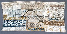 Sampler (Mexico), early 19th century