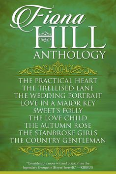A true artist of Regency romance, Fiona Hill paints pictures of the past with warmth and intrigue, enchanting readers the world over with her beautiful, heartfelt tales.  http://diversionbooks.com/ebooks/fiona-hill-anthology