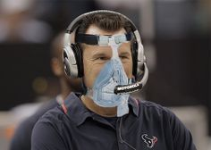 Gary Kubiak - Former Houston Texans Coach  #Texans #NFL #sleepapnea #cpap