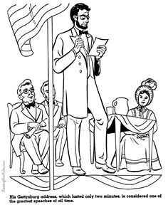 Abraham Lincoln Gettysburg Address - History for kid