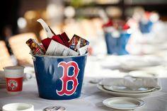 Our baseball themed #wedding Welcome Dinner