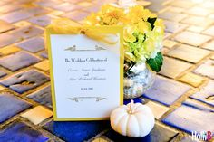 fall wedding yellow:  HolliB photo