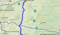Driving Directions from Saint-Hyacinthe, Quebec to Stowe, United States | MapQuest