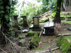 An abandoned Cemetery.