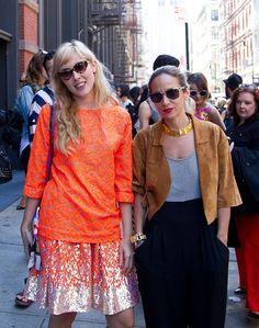 #StreetStyle #NYFW #Spring2014