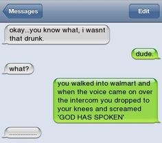 Lmbo....I could totally see my brother and cousin doing this!