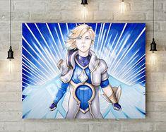 ORIGINAL - Star Guardian Ezreal (43,2x35,6 cm)