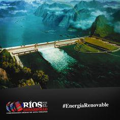 #SabíasQue dentro de las principales centrales hidroeléctricas a nivel mundial destacan; Presa de las Tres Gargantas en China con capacidad de 22,500 MW, Represa de Itaipú en Brasil y Paraguay con capacidad de 14,000 MW, Presa de Guri en Venezuela con capacidad de 10,200 MW. #EnergíaRenovable