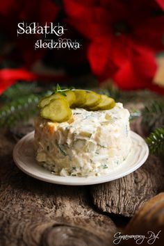 Sałatka śledziowa No Cook Appetizers, Appetizer Salads, Polish Recipes, Dinner Dishes, Food To Make, Fries, Seafood, Cabbage, Soup