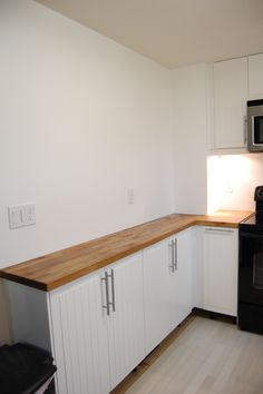 kitchen wall cabinets used as base cabinets for a library With what kind of paint to use on kitchen cabinets for tiny custom stickers