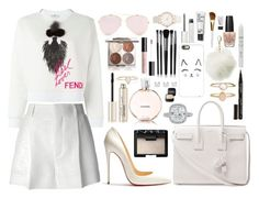 2022 by thecaitlinpeters on Polyvore featuring polyvore fashion style Fendi Chloé Christian Louboutin Yves Saint Laurent Accessorize Maison Margiela Catbird Casetify Charlotte Russe Chantecaille NARS Cosmetics Smith & Cult Illamasqua Givenchy NYX Isaac Mizrahi Chanel Stila OPI clothing