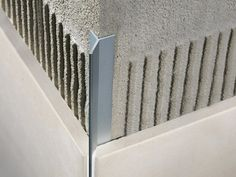 Profile trim for mitred ceramic tile coverings FILOJOLLY RJF Filojolly Collection by PROFILITEC