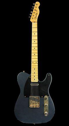 Fender Custom Shop Telecaster, Telecaster Guitar, Fender Guitars, Music Guitar, Cool Guitar, Guitar Inlay, Instruments, Taylor Guitars, Guitar Rack