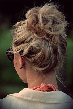Idée coiffure noel