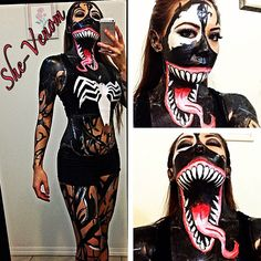She-Venom Cosplay by GhostXS on deviantART