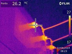 A empresa de inspeção termográfica pode auxiliar sua empresa a reduzir custos, junto a outros procedimentos, por exemplo, ao identificar o calor emitido