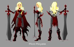 Riot Royale Turnaround by ~imperiusunforgivable on deviantART