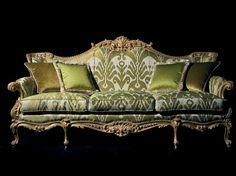 Oak Industria Arredamenti S. Furniture, Royal Furniture, Beautiful Furniture, Sofa Design, Georgian Furniture, Sofa Set Designs, Sofa Set, Furniture Design, Ornate Furniture