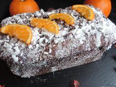 Soffice e goloso plumcake al cacao e profumato all'arancia - Ricetta Dessert : Plumcake cacao e arancia (senza burro) da RossoPomodoro