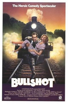 "Bullshot Crummond (1983) ""Bullshot"" (original title) Stars: Alan Shearman, Diz White, Ronald E. House, Frances Tomelty, Ron Pember, Mel Smith, Billy Connolly ~  Director: Dick Clement"