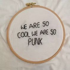 Black and White lyrics embroidery Band mystuff The Front Bottoms Brian Sella Mathew Uychich twelve feet deep Krysten Ritter, Mbti, We Heart It, Whatever Forever, All The Bright Places, Front Bottoms, Life Is Strange, The Marauders, Pop Punk