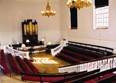 Holywell Music Room in Oxford.  I saw a concert here.  It was a lovely experience.
