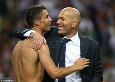 Ronaldo is happy to be playing his football under Real Madrid boss Zinedine…