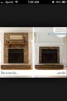 Does every home built in the 90's have this exact fire place?!?!