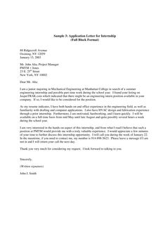 Employment Letter Of Recommendation Template Custom Sle Application Letter For Any Position Available  News To Gow .