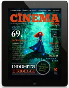 Brave è candidato nella categoria miglior film d'animazione, ma soprattutto è stato la Cover Story di The Cinema Show #19. Scaricalo da App Store. https://itunes.apple.com/it/app/the-cinema-show/id388917163?mt=8