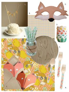 Party Inspiration: Fantastic Foxes...Ted would LOVE this as one of our favorite movies is Fantastic Mr. Fox!