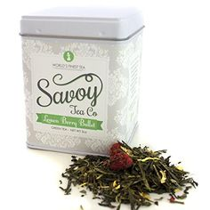 Savoy Tea Co.-Lemon Berry Ballet-Green Loose Leaf Tea (3oz Tin) *** You can find more details by visiting the image link. (This is an affiliate link and I receive a commission for the sales)