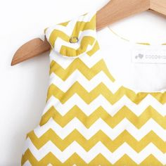 Gigoteuse motif Chevron jaune moutarde - Cocoeko Chevron, Child Room, Nursery