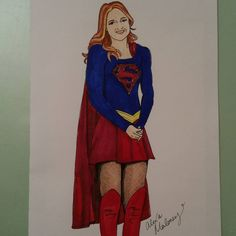 Supergirl in Copic Marker by Alexa's Illustrations  alexasillustrations