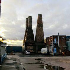James Kent Ltd, Fountain Street, Fenton, Stoke-on-Trent by Sue Sheldon