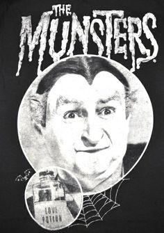 Grandpa Munster Love Potion Mens T Shirt Gothic Punk Vampire Horror s M L 2XL | eBay