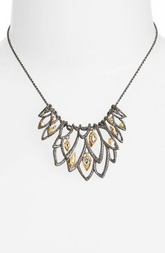 Alexis Bittar 'Elements' Small Bib Necklace available at #Nordstrom