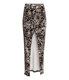 #falda #larga #elastica #apertura @H&M 24,95€