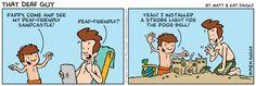 Deaf/ASL Cartoon