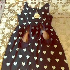 BUNDLE!!!!NWT Teal dress w/ matching shoes BUNDLE!!!!NWT Teal dress w/ matching shoes SHOES are size 8.5 ModCloth Dresses Midi