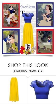 """""""Disney's Snow White and the Seven Dwarfs"""" by malinda108 ❤ liked on Polyvore featuring мода, women's clothing, women's fashion, women, female, woman, misses, juniors и snowwhite"""