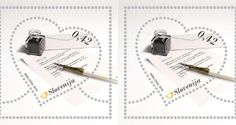 Express the feelings of Love with beautiful Love Letter stamp from Slovenia
