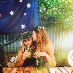 australia / love / party / kiss