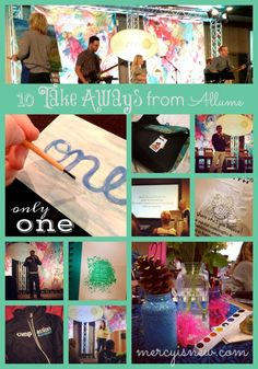 {affiliate links used. thank you for supporting this blog.} Words just almost don't seem adequate to describe this past weekend at Allume. But I'm a blogger, I will try. :) 10 of my favorite memori...