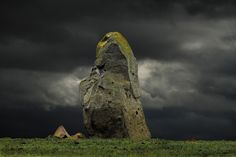 The Candle Stane,  an early Bronze Age standing stone, at Drumwhindle, Aberdeenshire