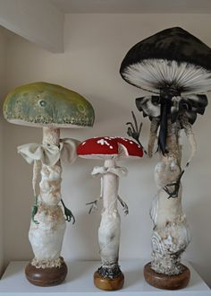 Toadstool spirits by the wonderful Mr. Finch