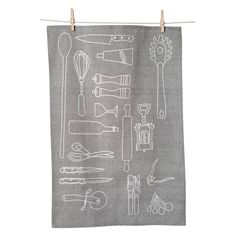 KAF HOME Kitchen Tools Flour Sack Towel - Set of 2 - KT 28059-S2