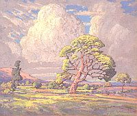 J.H. Pierneef South African Artists, Witch Art, Painting Inspiration, Painters, Landscape Paintings, Arts And Crafts, Colours, Watercolor, Sculpture